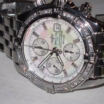 Breitling Acero Automático Madreperla Sin cifras 44mm usados Chronomat Evolution