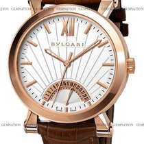 Bulgari Sotirio new Automatic Watch with original box and original papers SBP42WGLDR