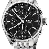 Oris Artix Chronograph Steel Black United States of America, New York, Brooklyn