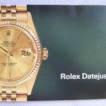 Rolex DATEJUST Booklet & Manual; engl., dated 1978. RARE