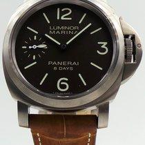 Panerai Luminor Marina 8 Days pre-owned 44mm Titanium