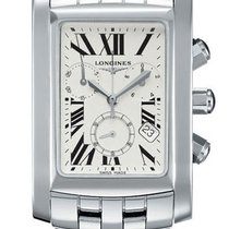 Longines DolceVita 28 Quartz Chronograph Stainless Steel Watch