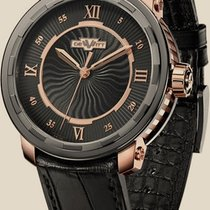 Dewitt Twenty-8-Eight Automatic Rose gold with black PVD