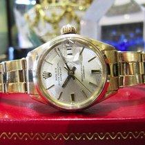 Rolex Datejust Ref. 6516 18k Yellow Gold Watch Circa 1965