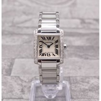 Cartier Tank Francaise Set With VS Diamonds