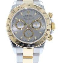 Rolex Cosmograph Daytona 116523 Watch with 18k Yellow Gold,...
