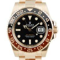 Rolex GMT-Master II Rose Gold Black Dial - 126715CHNR