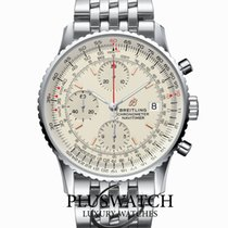 Breitling A13324121G1A1 Steel Navitimer Heritage 41mm new