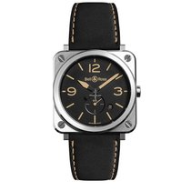 Bell & Ross BR S BRS-HERI-ST/SCA new