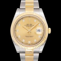 Rolex Datejust Yellow gold 41mm Champagne
