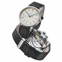 Stowa new Automatic Display Back Center Seconds Blue Steel Hands Only Original Parts 39mm Steel Sapphire Glass