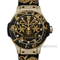 Hublot Big Bang Broderie Or jaune 41mm Noir