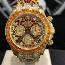 Rolex Daytona Yellow gold 40mm No numerals
