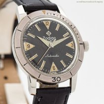 Zodiac 34mm Automatic 1960 pre-owned Sea Wolf
