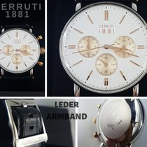 Cerruti 40mm Quartz tweedehands