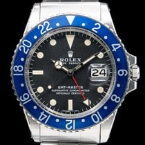 "Rolex 1675 GMT Master ""Blueberry"" MKII SS (30054)"