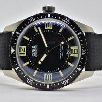 Oris 40mm Automatik 2015 neu Divers Sixty Five Schwarz