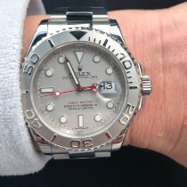 Rolex Yacht-Master 40 116622 Rolex Yacht Master With Platinum Bezel and Dial 2014 pre-owned