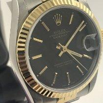 Rolex Lady-Datejust Gold/Stahl 31mm Schwarz Keine Ziffern Deutschland, Berlin