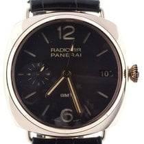 Panerai Radiomir 3 Days GMT Rose gold 47mm Brown