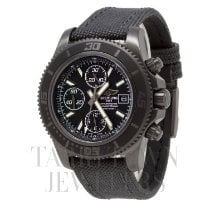 Breitling Steel Automatic Black 44mm new Superocean Chronograph II