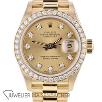 Rolex Yellow gold Automatic No numerals 26mm Lady-Datejust