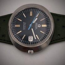 Omega Genève Stahl 41mm Blau