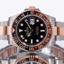 Rolex GMT-Master II Gold/Steel 40mm Black United Kingdom, Essex