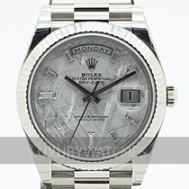 Rolex Day-Date 40 Or blanc 40mm