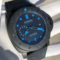 Panerai Luminor GMT Automatic Carbon 47mm Black