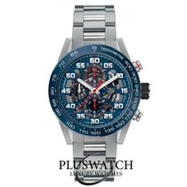 TAG Heuer Carrera Calibre HEUER 01 Steel 45mm Blue Arabic numerals