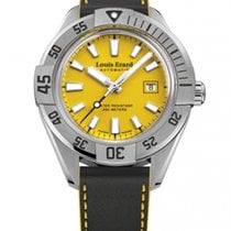 Louis Erard new Automatic Display Back Center Seconds Luminescent Numerals Luminescent Hands 44mm Steel Sapphire Glass