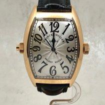 Franck Muller Secret Hours Pозовое золото 38mm