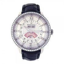 Maurice Lacroix Masterpiece Phase de Lune Stainless Steel...