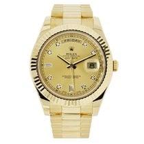 Rolex Day-Date II / President II 41MM Champagne Dial