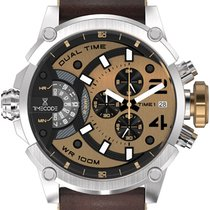 Timex Timecode Marconi 1896 GMT  Brown