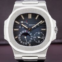 Patek Philippe 5712/1A-001 Jumbo Nautilus Moonphase Power...