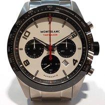 Montblanc Steel Automatic White Arabic numerals 43mm new Timewalker