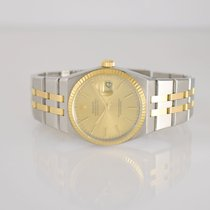 Rolex Datejust Oysterquartz tweedehands 36mm Goud/Staal