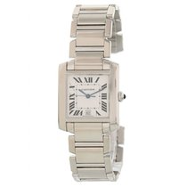 Cartier Tank Française Yellow gold 28mm White United States of America, New York, New York
