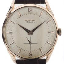 Wyler Vetta Rose gold 37mm Manual winding pre-owned