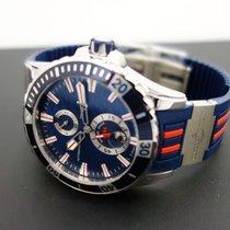 Ulysse Nardin Diver Chronometer Сталь 44mm Синий Без цифр