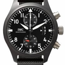 IWC Fliegeruhr Chronograph Top Gun neu 46mm Keramik