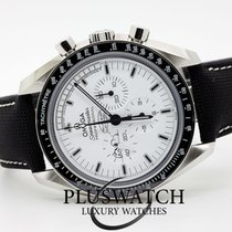 Omega Speedmaster Professional Moonwatch Stahl 42mm Weiß
