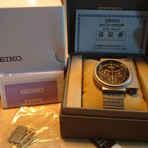 Seiko 42mm Quartz 7T12-0BL0 pre-owned
