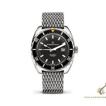 Eterna Super Kontiki Limited Edition 1973 Steel 44mm Black