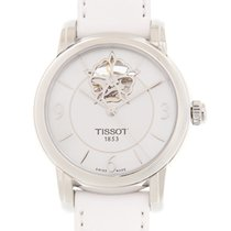 Tissot T-Lady Staal 35mm Wit