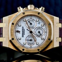 Audemars Piguet Royal Oak Chronograph Rose gold 39mm Silver No numerals United States of America, Michigan, Southfield