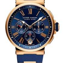 Ulysse Nardin Marine Chronograph 1532-150-3/43 new