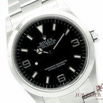 Rolex Explorer Acero 36mm Negro Árabes